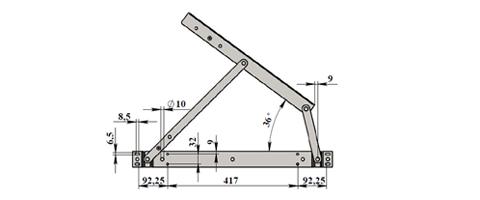 Подъёмный механизм для кровати сделать своими руками 93